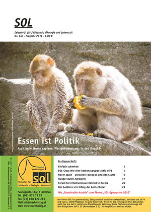 Cover SOL-Magazin 143