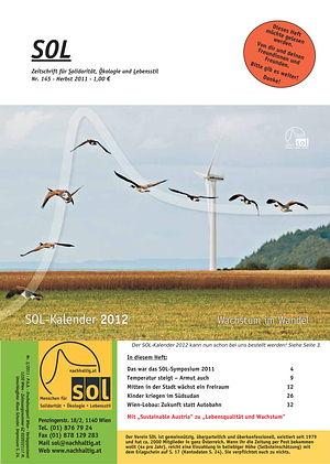 Cover SOL-Magazin 145