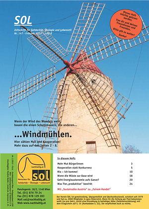 Cover SOL-Magazin 147