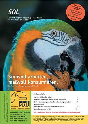Cover SOL-Magazin 149