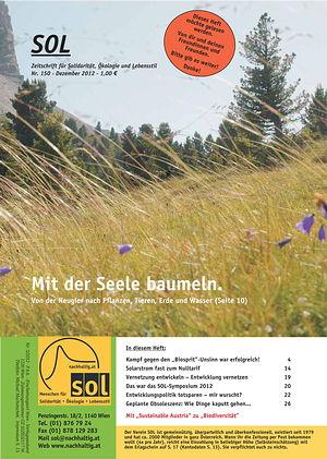 Cover SOL-Magazin 150