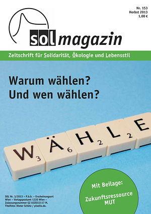 Cover SOL-Magazin 153