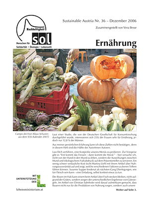 Cover Sustainable Austria Nr. 36