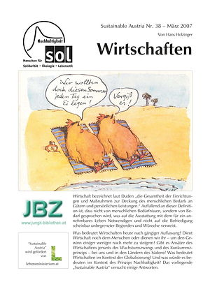 Cover Sustainable Austria Nr. 38