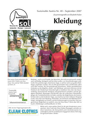 Cover Sustainable Austria Nr. 40