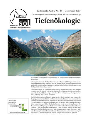 Cover Sustainable Austria Nr. 41