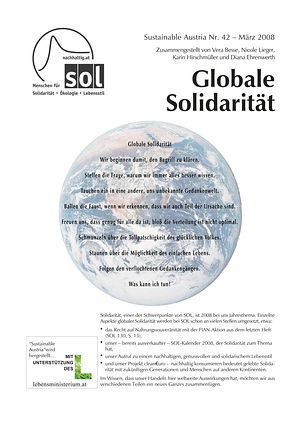 Cover Sustainable Austria Nr. 42