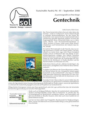 Cover Sustainable Austria Nr. 44