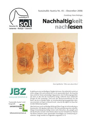 Cover Sustainable Austria Nr. 45