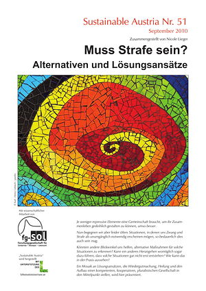 Cover Sustainable Austria Nr. 52