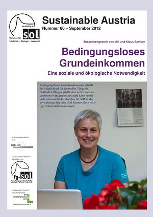 Cover Sustainable Austria Nr. 60