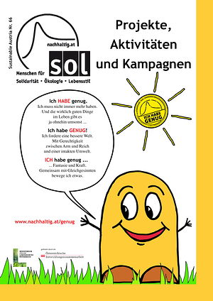 Cover Sustainable Austria Nr. 66