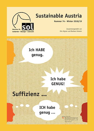 Cover Sustainable Austria Nr. 74