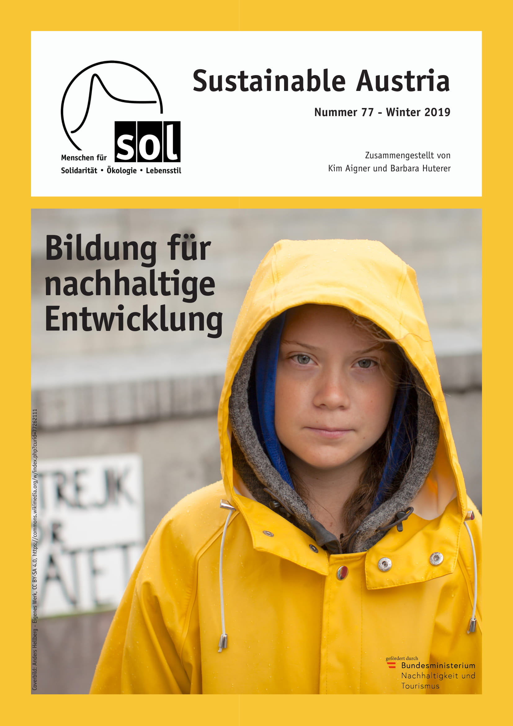 Cover Sustainable Austria 77