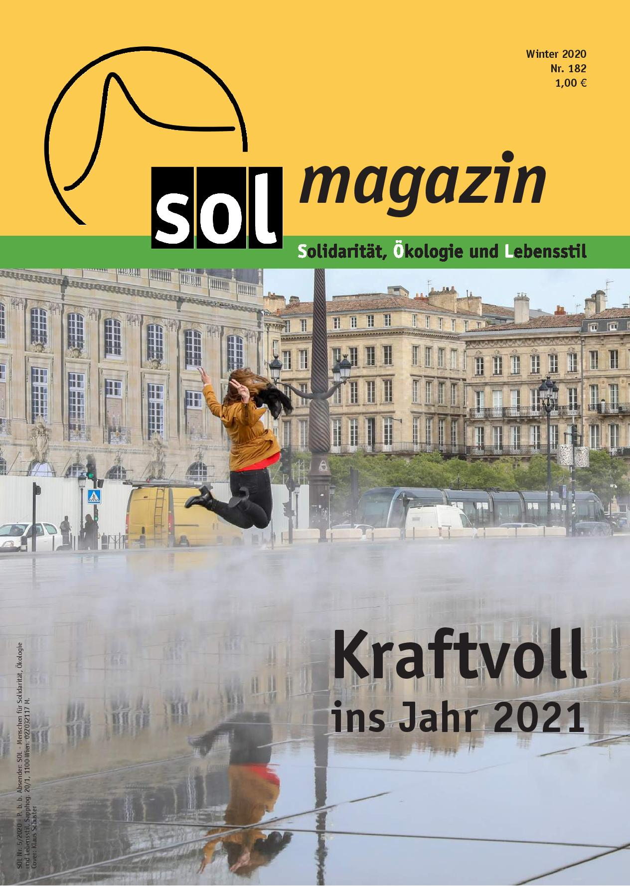 Cover SOL-Magazin 181
