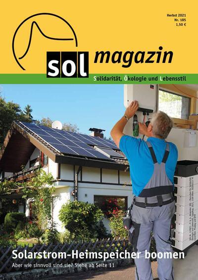 Cover SOL-Magazin 185